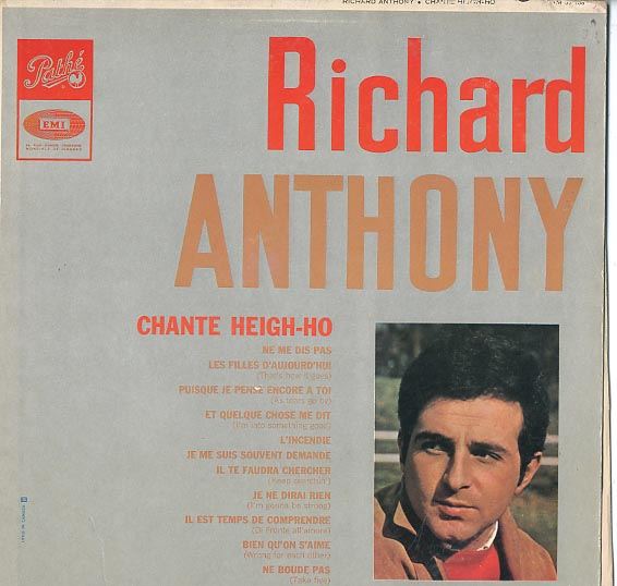 Albumcover Richard Anthony - Chante Heigh-Ho