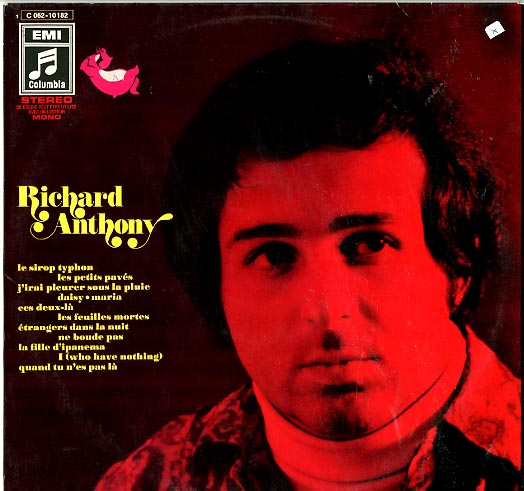 Albumcover Richard Anthony - Richard Anthony
