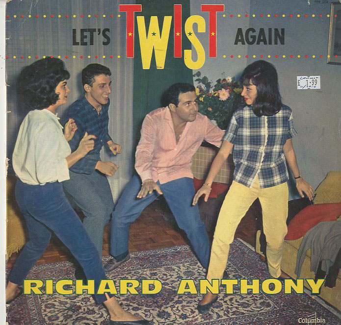 Albumcover Richard Anthony - Lets Twist Again