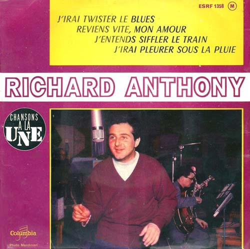 Albumcover Richard Anthony - Richard anthony (EP)