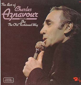 Albumcover Charles Aznavour - The Best of Charles Aznavour  (ENGLISCH ! )<br>
