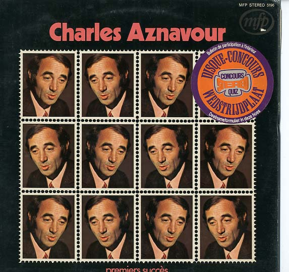 Albumcover Charles Aznavour - Premiers Succes