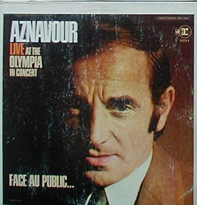 Albumcover Charles Aznavour - Live At The Olympia In Concert - Face au public....