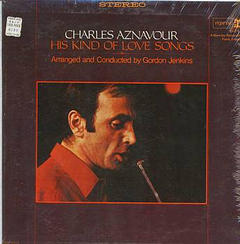 Albumcover Charles Aznavour - His Kind Of Love Songs