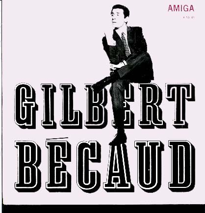 Albumcover Gilbert Becaud - Gilbert Becaud