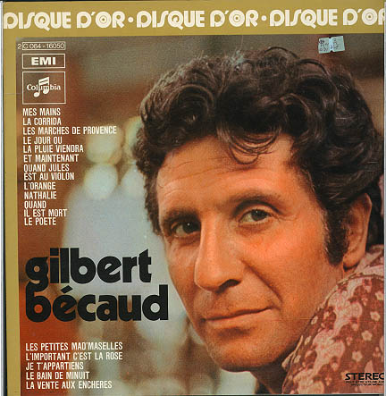 Albumcover Gilbert Becaud - Disque d´or