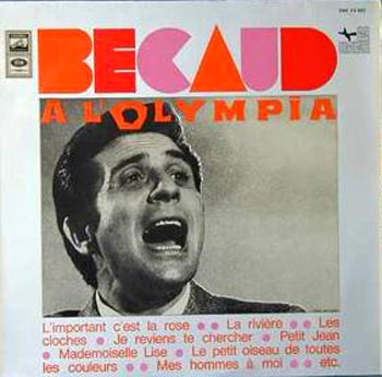 Albumcover Gilbert Becaud - A l`Olympia