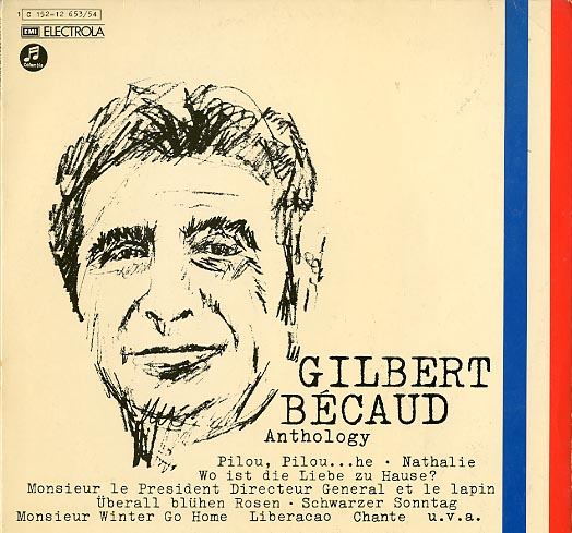 Albumcover Gilbert Becaud - Anthology (DLP)