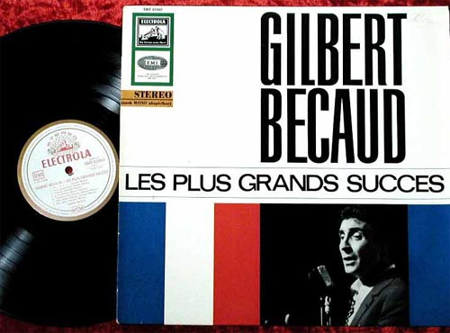 Albumcover Gilbert Becaud - Les plus grand success