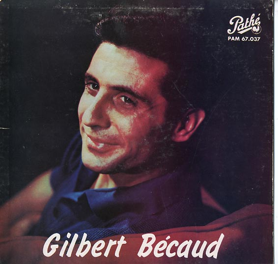 Albumcover Gilbert Becaud - Gilbert Becaud (Canad. LP 1960)