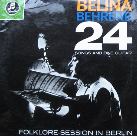 Albumcover Belina und Siegfried Behrend - 24 Songs and One Guitar -  Folklore Session in Berlin