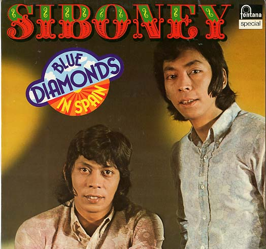 Albumcover Blue Diamonds - Siboney - Blue Diamonds in Spain