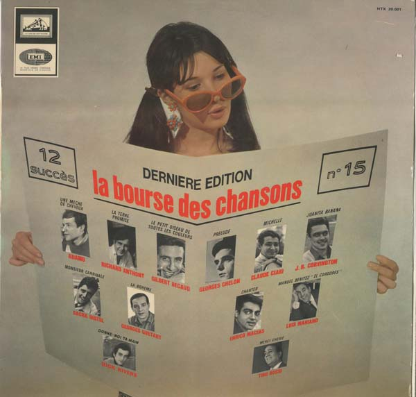 Albumcover Various International Artists - La bourse des chansons - Derniere Edition no. 15