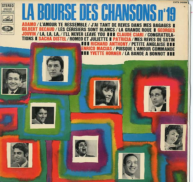 Albumcover Various International Artists - La bourse des chansons Pathe-Marconi (No. 19)