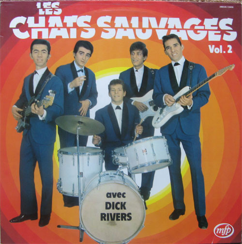 Albumcover Les Chats Sauvages - Les Chats Sauvages Vol. 2 (avec Dick Rivers)