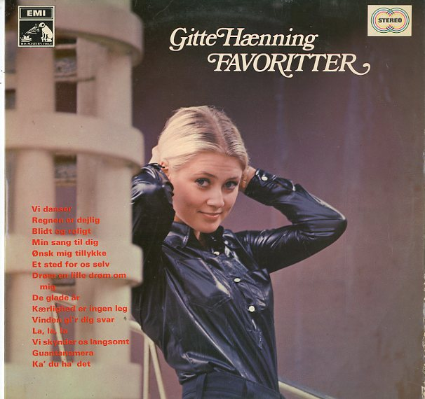 Albumcover Gitte - Favoriter