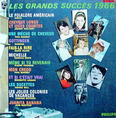 Albumcover Various International Artists - Les Grands Success 1966