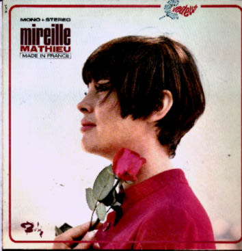 Albumcover Mireille Mathieu - Made in France