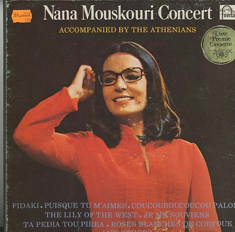 Albumcover Nana Mouskouri - Nana Mouskouri Concert Accompanied by the Athenians (Kassette mit 2 Lps)