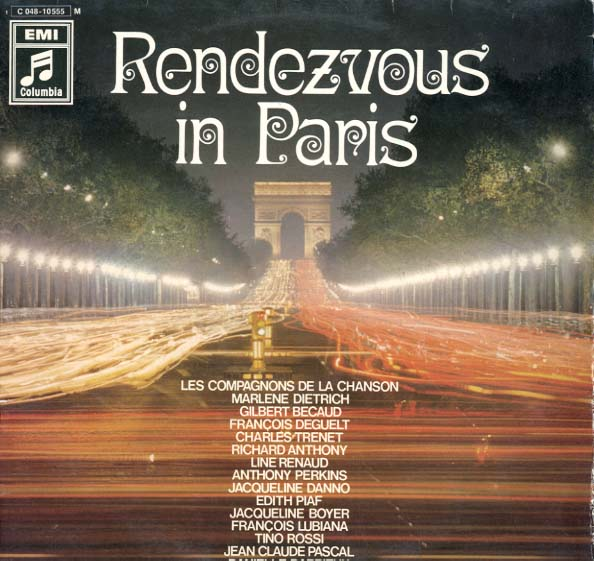 Albumcover Various International Artists - Rendezvous in Paris