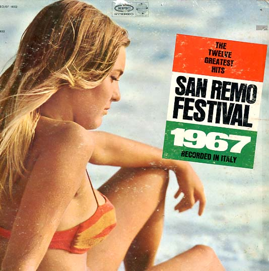 Albumcover San Remo Festival - The Twelve Greatest Hits San Remo Fetsival 1967