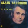Cover: Alain Barriere - Alain Barriere / Tu T´en Vas