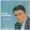 Cover: Alain Barriere - A L´OLYMPIA