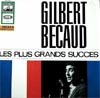 Cover: Becaud, Gilbert - Les plus grand success