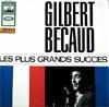 Cover: Gilbert Becaud - Gilbert Becaud / Les plus grand success
