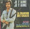 Cover: Joe Dassin - Joe Dassin / Je taime , je taime /  La chanson des cigales