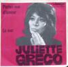 Cover: Juliette Greco - Juliette Greco / Parlez-moi damour /La Mer