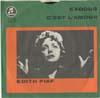 Cover: Edith Piaf - Edith Piaf / Exodus / Cest Lamour