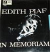 Cover: Edith Piaf - Edith Piaf / In Memoriam
