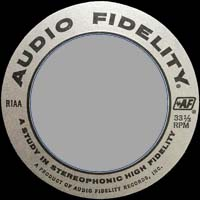 Logo des Labels Audio Fidelity