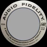 Logo des Labels Audio Fidelity
