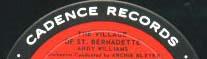 Logo des Labels Cadence Records