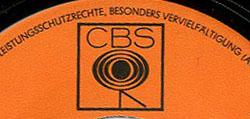 Logo des Labels CBS schwarz-orange