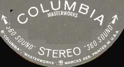 Logo des Labels Columbia Masterworks 360 Sound
