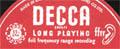 Logo des Labels Decca ffrr
