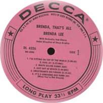 Logo des Labels Decca US Pink