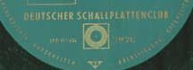 Logo des Labels Deutscher Schallplattenclub