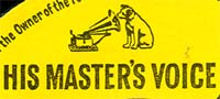 Logo des Labels His Masters Voice