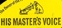 Logo des Labels His Masters Voice