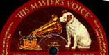 Logo des Labels His Masters Voice (Electrola)