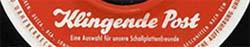 Logo des Labels Klingende Post