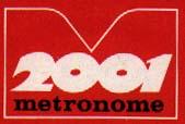 Logo des Labels metronome 2001