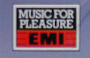 Logo des Labels Music for Pleasure EMI