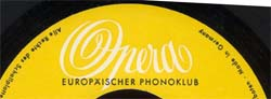 Logo des Labels Opera Europäischer Phonoclub