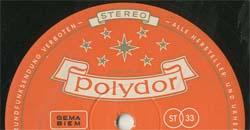 Logo des Labels Polydor alt STEREO