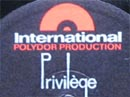 Logo des Labels International Polydor Production Privilege